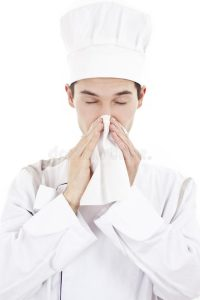 ¿Qué debe hacer un Manipulador de Alimentos si está enfermo?