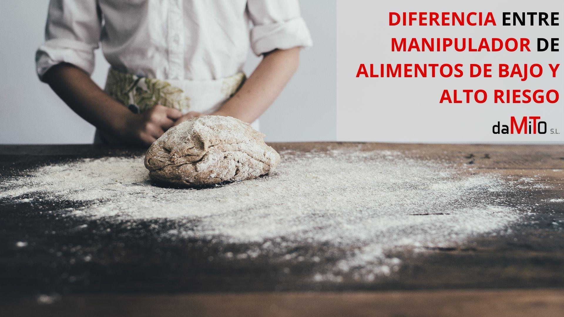 Diferencia entre Manipulador de Alimentos de Bajo y Alto Riesgo
